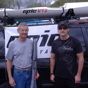 Larry Waters - Gutbuster Epic Paddle Winner